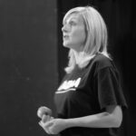 Bryony Rose, Principal of The Alternative Dramatic Arts Academy in rehearsals